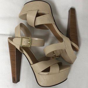 Delicious platform heels